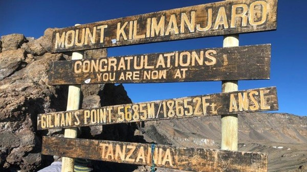 Kilimanjaro Blog 5: A wondrous and challenging experience is finally realised